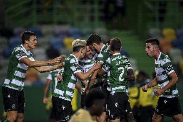Primeira Liga - Sporting kroont zich voor het eerst in 19 jaar tot kampioen van Portugal