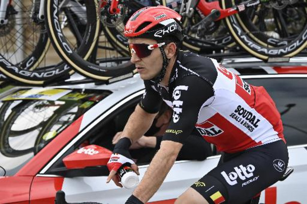Lotto Soudal heeft nog vijf renners in koers na opgave Jasper De Buyst