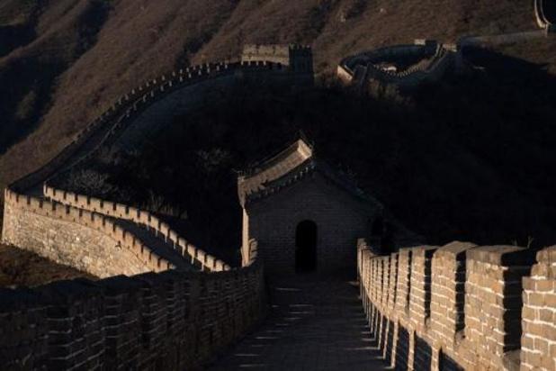 China sluit delen van Chinese Muur