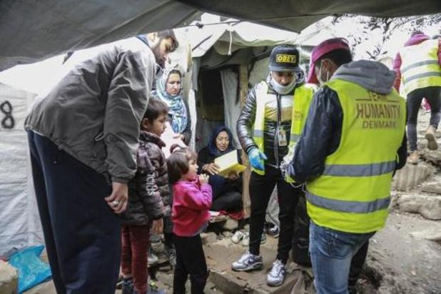 Griekenland verlengt lockdown in vluchtelingenkampen