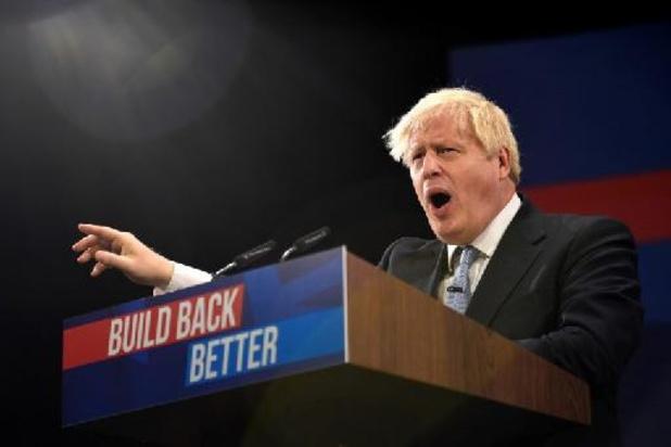 Malgré les crises, Boris Johnson promet un avenir resplendissant