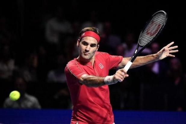 ATP Bazel - Roger Federer kan zondag toernooi in Bazel tiende keer winnen
