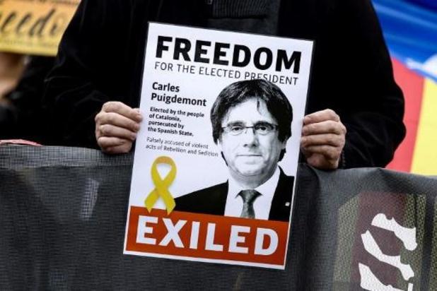 Italiaanse rechter laat Puigdemont vrij