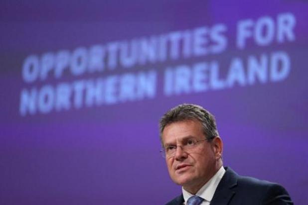EU-Commissie wil met soepelere goederentrafiek spanningen over Noord-Ierland bezweren