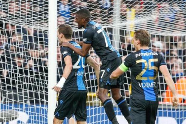 Hans Vanaken (Club Bruges) disponible pour la 1/2 finale de la Coupe malgré son poignet