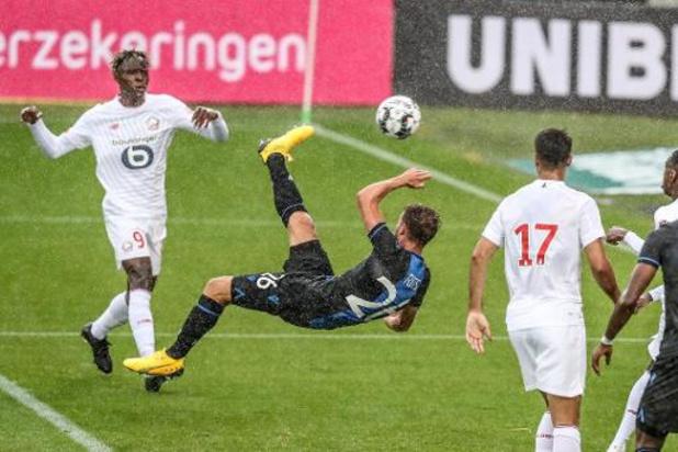 Jupiler Pro League - Matines brugeoises : le Club Bruges bat Lille