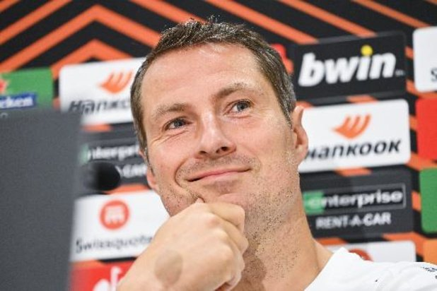 """Antwerp-coach Priske ontvangt Frankfurt met vertrouwen: """"Thuis kunnen we iedereen kloppen"""""""