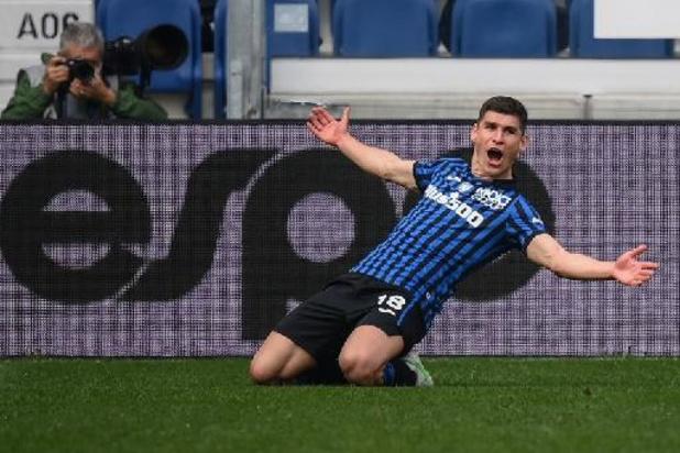 Serie A - L'Atalanta bat la Juventus et prend la troisième place