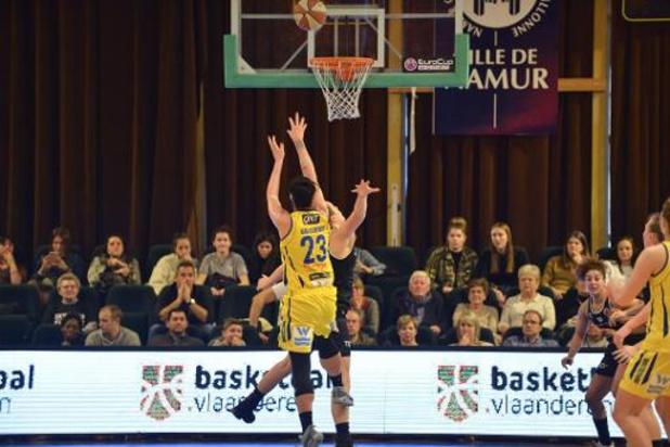 Euroligue basket (d) - Castors Braine tient une mi-temps face à Orenbourg avant de s'effondrer