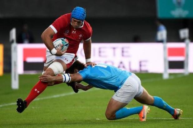 Angleterre-Australie et Galles-France en quarts