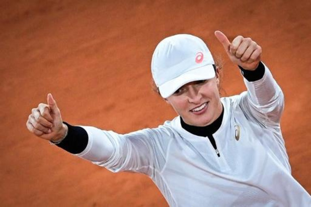 Roland-Garros - Poolse Swiatek is halvefinaliste