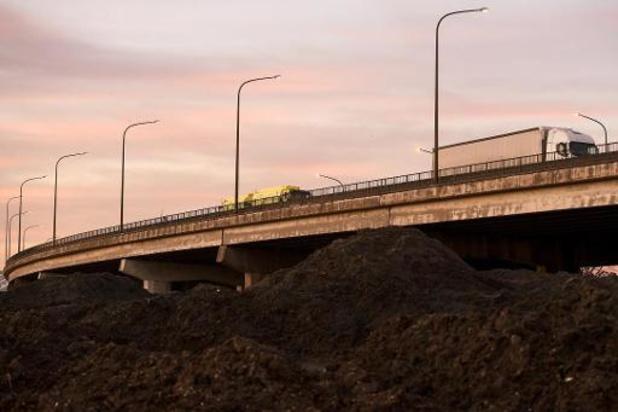 Oosterweelwerken aan E17: jaar voorsprong door verkeersluwte