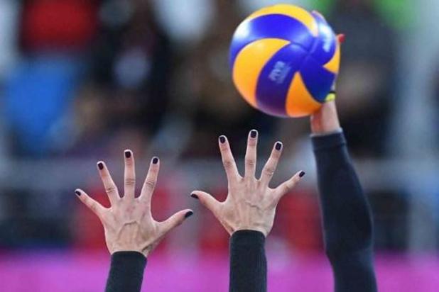 CEV Cup volley (v) - Beveren verliest heenwedstrijd kwartfinales met 1-3 van Palmberg Schwerin