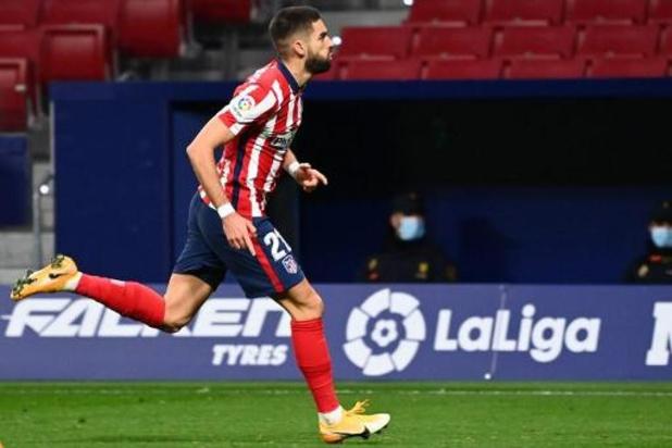 Les Belges à l'étranger - Carrasco offre la victoire à l'Atlético contre Barcelone