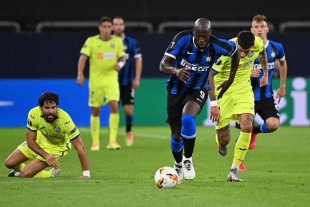 Belgen in het buitenland - Lukaku trapt Inter naar kwartfinales Europa League