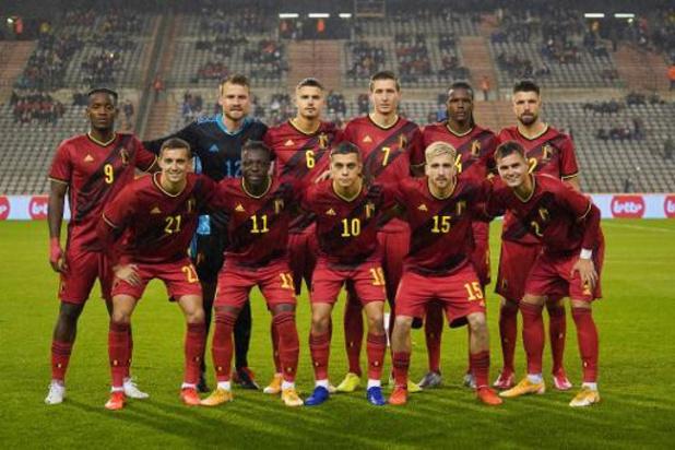 Diables Rouges - La Belgique, avec cinq nouveaux Diables, accrochée par la Côte d'Ivoire