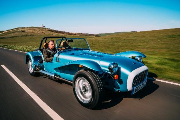 Caterham Super Seven 1600, back to the seventies