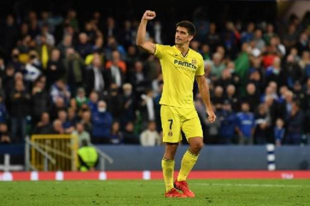 L'Espagnol Gerard Moreno (Villarreal) désigné meilleur joueur de la saison passée