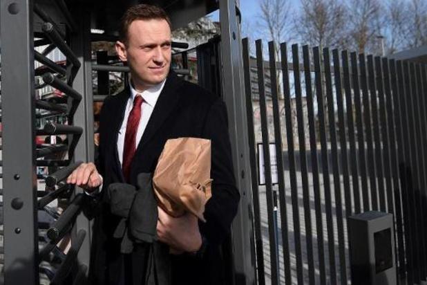 Toestand van Navalny gaat erop vooruit