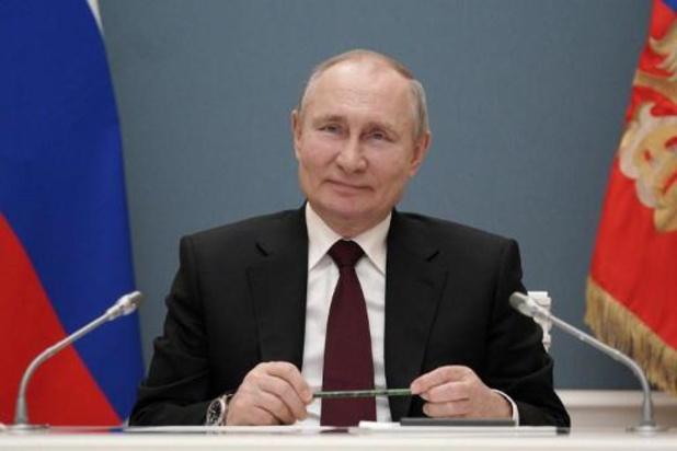 """Poetin wenst Biden """"goede gezondheid"""" als reactie op uitspraken"""