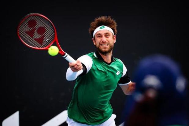 Australian Open - Sander Gillé stoot door in gemengd dubbelspel