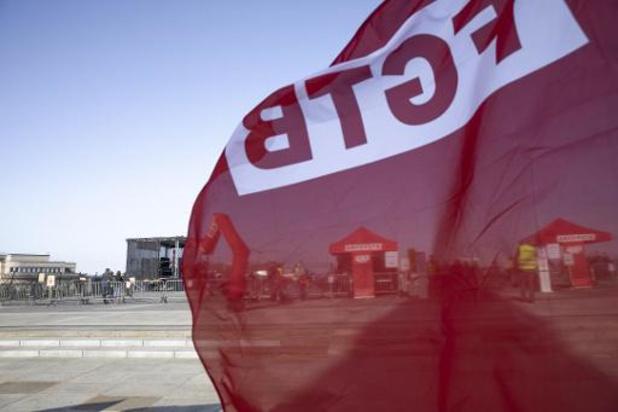 """La FGTB annonce une """"manifestation nationale"""" le 24 septembre"""