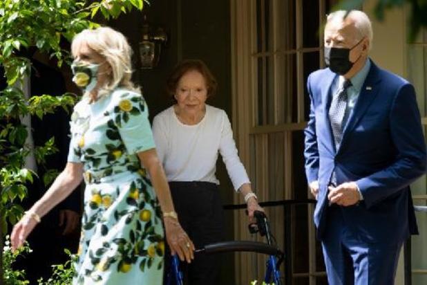 Biden bezoekt oud-president Carter in Georgia