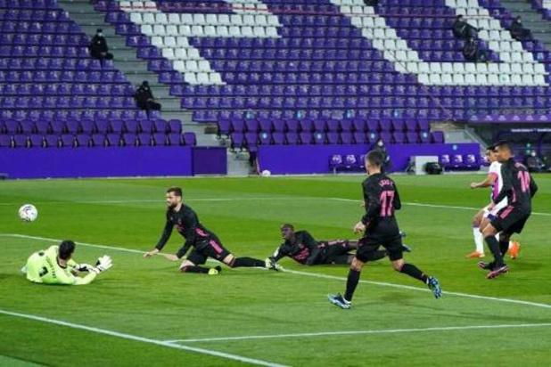 Les Belges à l'étranger - Victoire et clean sheet pour Thibaut Courtois et le Real à Valladolid