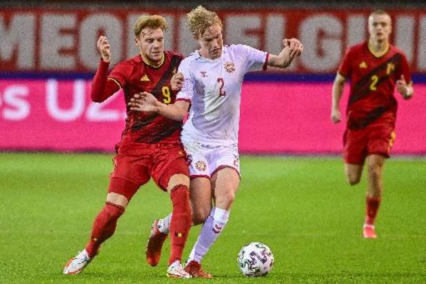 Qualifications Euro U21 2023 - Les Diablotins s'imposent contre le Danemark et confortent leur première place