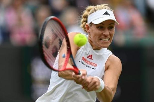Ook ex-winnares Kerber schaart zich bij laatste vier op Wimbledon