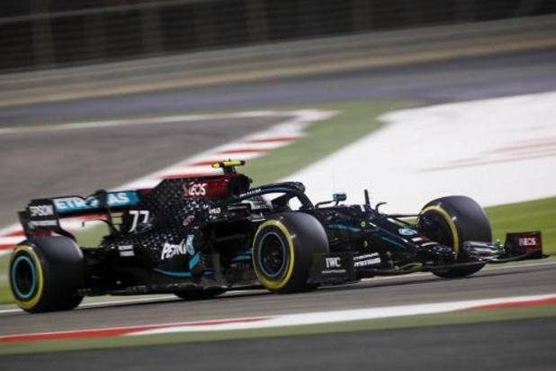 F1 - GP van Sakhir - Valtteri Bottas houdt George Russell nipt af voor polepositie