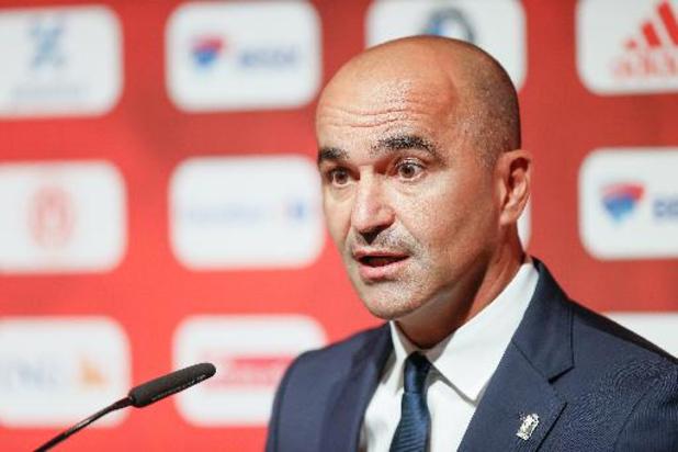 """Roberto Martinez sur sa sélection élargie: """"Important car les matches vont s'enchaîner"""""""