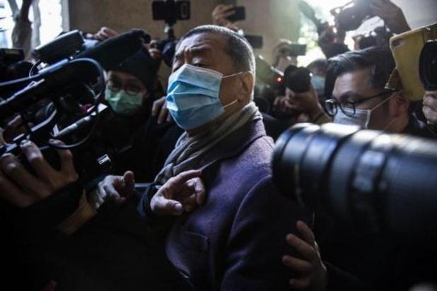 Hong Kong: le magnat pro-démocratie Jimmy Lai renvoyé en prison