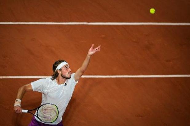 Roland Garros - Tsitsipas stoomt door naar halve finales