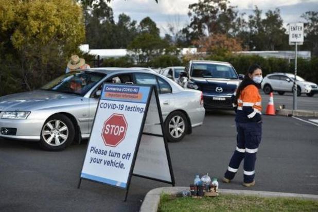 Australie: inquiétude à Sydney après l'apparition d'un nouveau foyer de coronavirus