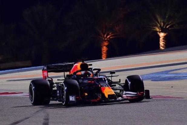 Max Verstappen le plus rapide de la 3e et dernière séance d'essais libres au GP de Sakhir