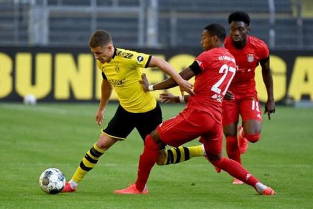 Thorgan Hazard en Axel Witsel lijden met Dortmund 0-1 nederlaag in der Klassiker