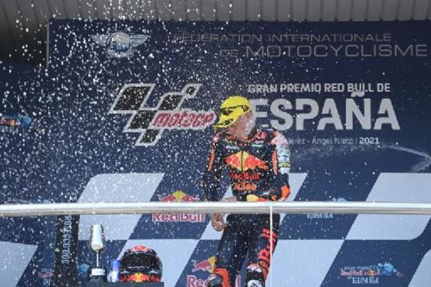 Troisième victoire de suite pour Pedro Acosta en Moto3