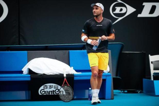Open d'Australie - Battu par Elliot Benchetrit, Steve Darcis a disputé le dernier match de sa carrière