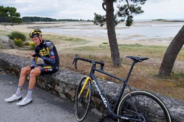 Tour de France: fracture de la clavicule finalement diagnostiquée pour Robert Gesink après sa chute