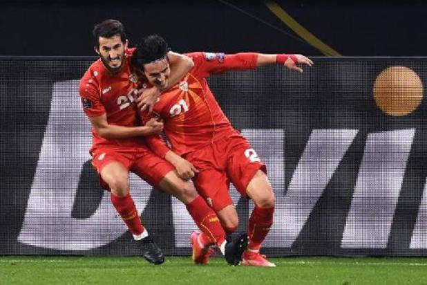 Kwal. WK 2022 - Duitsland verslikt zich in Noord-Macedonië