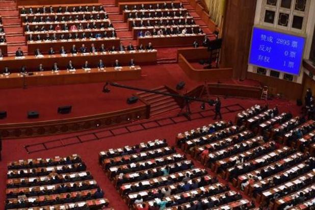 Chine: le Parlement ouvre la voie à une réforme électorale à Hong Kong