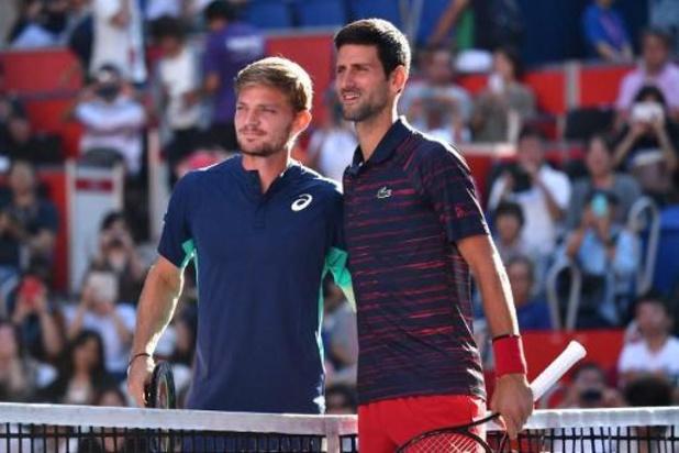 Djokovic creuse un peu l'écart avec Nadal, Goffin quatorzième
