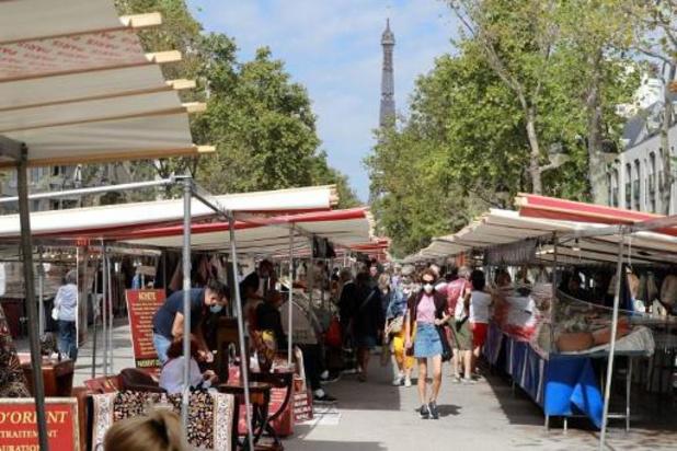 Mondmasker wordt verplicht in heel Parijs