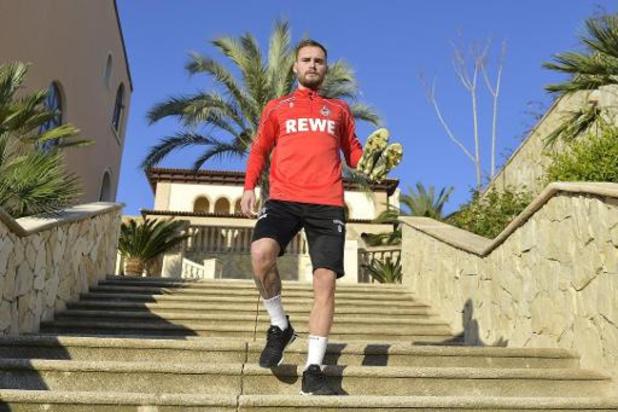 Birger Verstraete blijft sukkelen met de knie, maar is op de weg terug