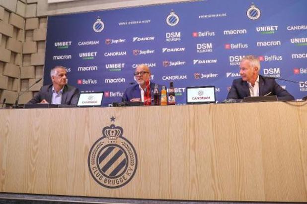 Le Club Bruges a présenté les plans de nouveau stade
