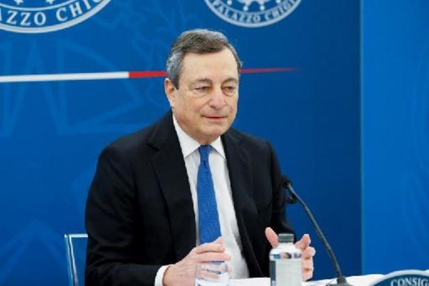 """Mario Draghi, ancien président de la BCE, veut une relance """"équitable et durable"""""""
