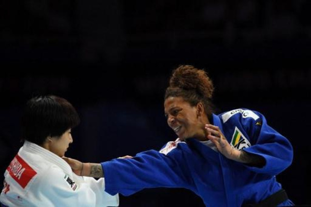 La judokate brésilienne Rafaela Silva, championne olympique, contrôlée positive