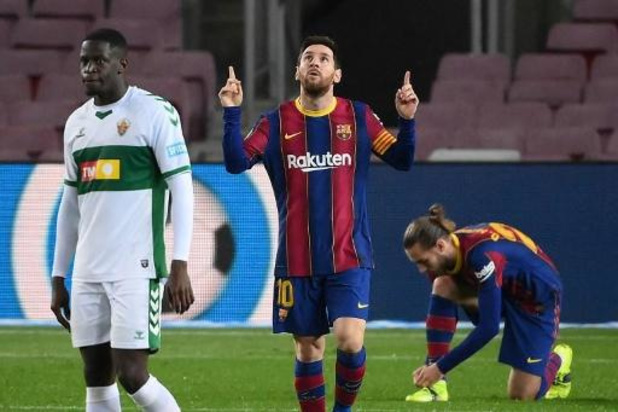 La Liga - Barcelone se reprend contre Elche (3-0) et repasse à la 3e place