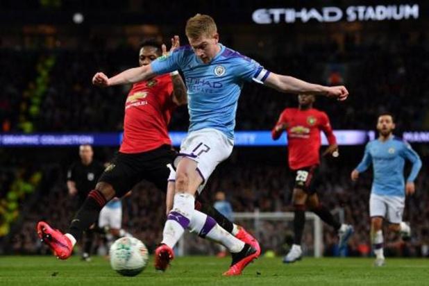 Les Belges à l'étranger - Manchester City en finale de la Coupe de la Ligue, l'Inter en demi-finale de la Coupe